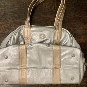 Lululemon Faux Leather Bag